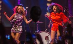 Pin for Later: The Stars Come Out to Play in Coachella Valley  Beyoncé joined her sister, Solange Knowles, for a surprise performance.