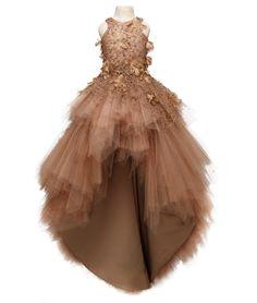 Mischka Aoki - Luxury brand for children Ombre Prom Dresses, Wedding Dresses For Girls, Pageant Dresses, Little Girl Dresses, Girls Dresses, Flower Girl Dresses, Kids Dress Wear, Kids Gown, Baby Dress