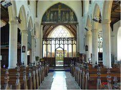 Married in here. Ludham, Norfolk.