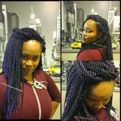 Crochet Braids by DivasCrochet Hair  www.divascrochethair.com #crochetbraids #divascrochethair #proectivestyles