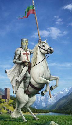 """Knights Templar:  """"#Templar #Knight,"""" by SHAWCJ, at deviantART."""