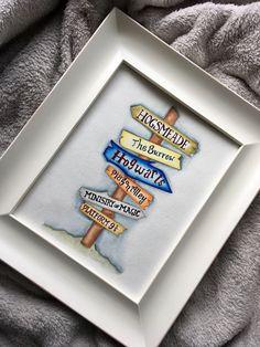 Definitely not harry potter - but signs to cool places Baby Harry Potter, Cadeau Harry Potter, Deco Harry Potter, Harry Potter Nursery, Harry Potter Wall Art, Harry Potter Journal, Hogwarts, Baby Nursery Diy, Themed Nursery
