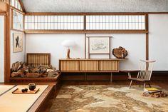 """Celebrating 80 years, US rug maker Edward Fields launch """"The Nakashima Collection,"""" resurrecting the carpet designs of mid-century icon, George Nakashima."""