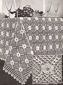 Irish lace tablecloth