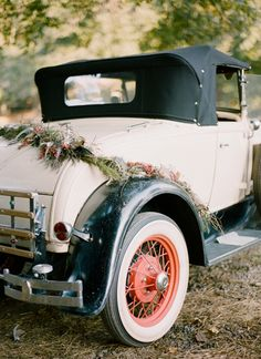 car garland | Ali Harper #wedding