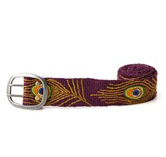 Look what I found at UncommonGoods: peacock belt... for $65 #uncommongoods