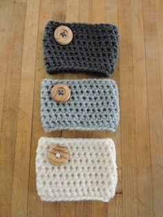 Crochet Coffee Cozy Pattern | AllFreeCrochet.com