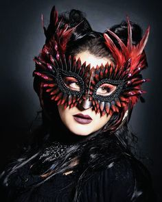 Halloween Masks, Halloween Face Makeup, Halloween Ideas, Masquerade Party, Masquerade Masks, Mascarade Mask, Bird Masks, Leather Mask, Beautiful Mask