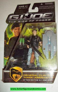 gi joe GENERAL HAWK 2009 v4 rise of Cobra movie series moc mip mib action figures