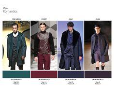 Fall/Winter 2014 Color Trends MEN- Romantics