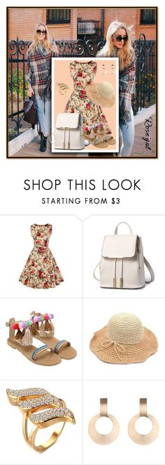 """""""Rosegal 54."""" by fashionunion-1 ❤ liked on Polyvore"""
