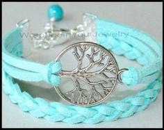 SILVER Bow and Arrow Charm Boho Bracelet Arrow by WrappedinYou