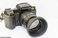Pentax SFXn front view