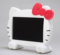 Hello Kitty! Plus get a Hello Kitty Screen Cleaner to keep it smudge free http://screencleaners4kids.com/