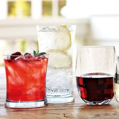 DuraClear® Small Tumblers, Set of 6 | Williams-Sonoma