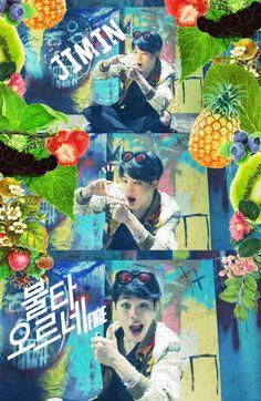 BTS / Jimin / Fire / Wallpaper