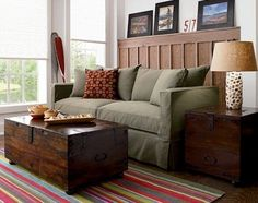 vintage trunk coffee table @ bungalow | home life | pinterest
