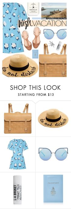 """""""#PolyPresents: Wish List"""" by cutandpaste ❤ liked on Polyvore featuring Draper James, Matthew Williamson, Mark Cross, Orla Kiely, W&P Design, contestentry and polyPresents"""
