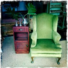 ANOUK offers an eclectic mix of vintage/retro furniture & décor.  Visit us: Instagram: @AnoukFurniture  Facebook: AnoukFurnitureDecor   April 2016, Cape Town, SA. Wingback Chair, Armchair, Cape Town, Decoration, Accent Chairs, Facebook, Photo And Video, Instagram, Furniture