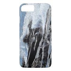 Rocky Coastline Surf Waves Crash Reid Park iPhone 8/7 Case