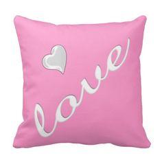 Love Throw Pillow II