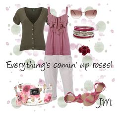 "dress your truth type 4 colors | Dressing Your Truth: Type 2 / ""Rose Garden"" by jenniemitchell ..."
