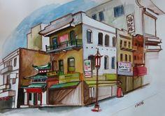 Carmen Stanescu - Google+ Signs, Google, Painting, Art, Watercolor Painting, Shop Signs, Painting Art, Sign, Paintings
