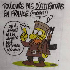 #CharlieHebdo ...