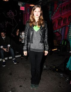 Lindsey Wixson at the Rodarte Afterparty