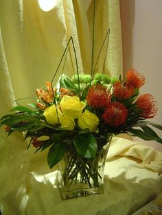 A flower arrangement called Vertex