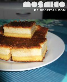 Mosaico de Receitas: Bolo de fubá cremoso (com cream cheese)