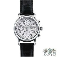 3d59052b0d6 Montblanc - Star XL Chronograph Automatic #8452 Stainless Steel Bracelet,  Stainless Steel Case,
