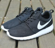 100% authentic 09920 d658f Nike Roshe One BR NSW Casual Black White Men Women Shoes