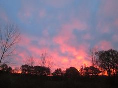 sunrise, Saugerties, NY