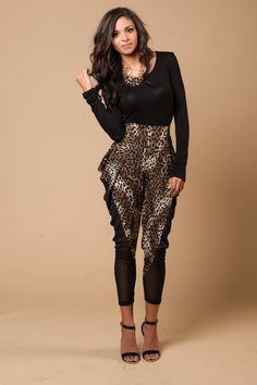 She is rocking these pants! Pant $12.99 <3