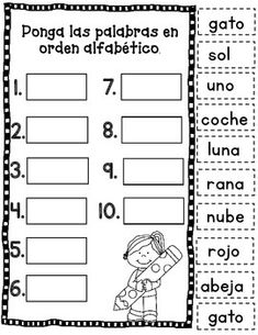 Otoño: Hojas de trabajo. Fall Literacy Packet in Spanish