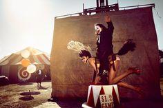 kristian schuller fashion moda photography - chicquero - circus