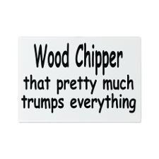 Wood Chipper 1 Glass Cutting Board