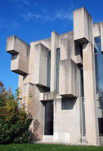 Vienna brutalist architecture