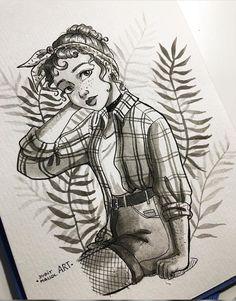Character Design~ Judithmallolart@Instagram