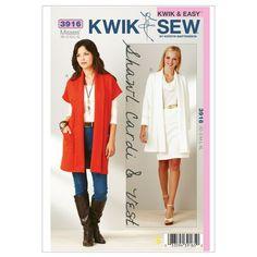 Kwik Sew Pattern K3916 (XS-S-M-L-XL)