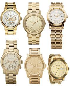Sleek Gold Watches