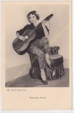 CPSM RPPC STAR FRANçOISE ARNOUL Photo GERARD DECAUX Edit P.I. Photos, Celebrity, France, Stars, Movies, Movie Posters, Pictures, Films, Film Poster