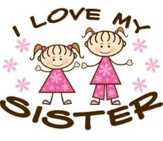 ♥♥~~~Sisters make the best of friends~~~♥♥ A sister is a sweet joyful piece of your heart She is someone who lights you up with her spark!~I love my sister! Love Your Sister, Best Sister, My Best Friend, Best Friends, My Love, Funny Sister, Sisters Forever, Friends Forever, Sister Quotes