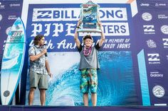 Florence also capped off his year by winning the Vans Triple Crown of Surfing for the third time in his career.