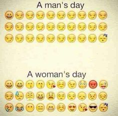Image via We Heart It https://weheartit.com/entry/137755438/via/12668481 #boy #day #funny #girl #man #woman #vraie #emojis