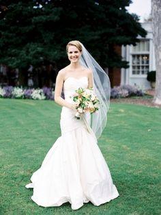 Wedding Dress, Watters, Photo: Sarah Der Photography - Virginia Wedding http://caratsandcake.com/saraandsam