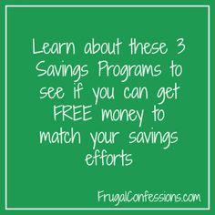 Can You get Free Money Towards Your Savings Goals?