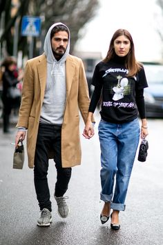 Milan Fashion Week Street Style Fall 2016 | POPSUGAR Fashion