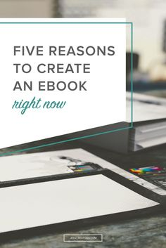 Offering ebooks, for free or for sale, is a simple way to package problem-solving snippets of your expertise and deliver it to your audience in a digestible format.  You might think that creating an ebook requires a ton of time and effort. I'm here to tell you that all it takes it is a couple of hours on an evening or weekend.